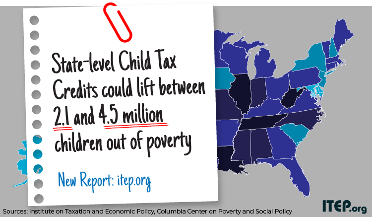 States Could Lift Millions of Children Out of Poverty by Enacting State-Level Child Tax Credits