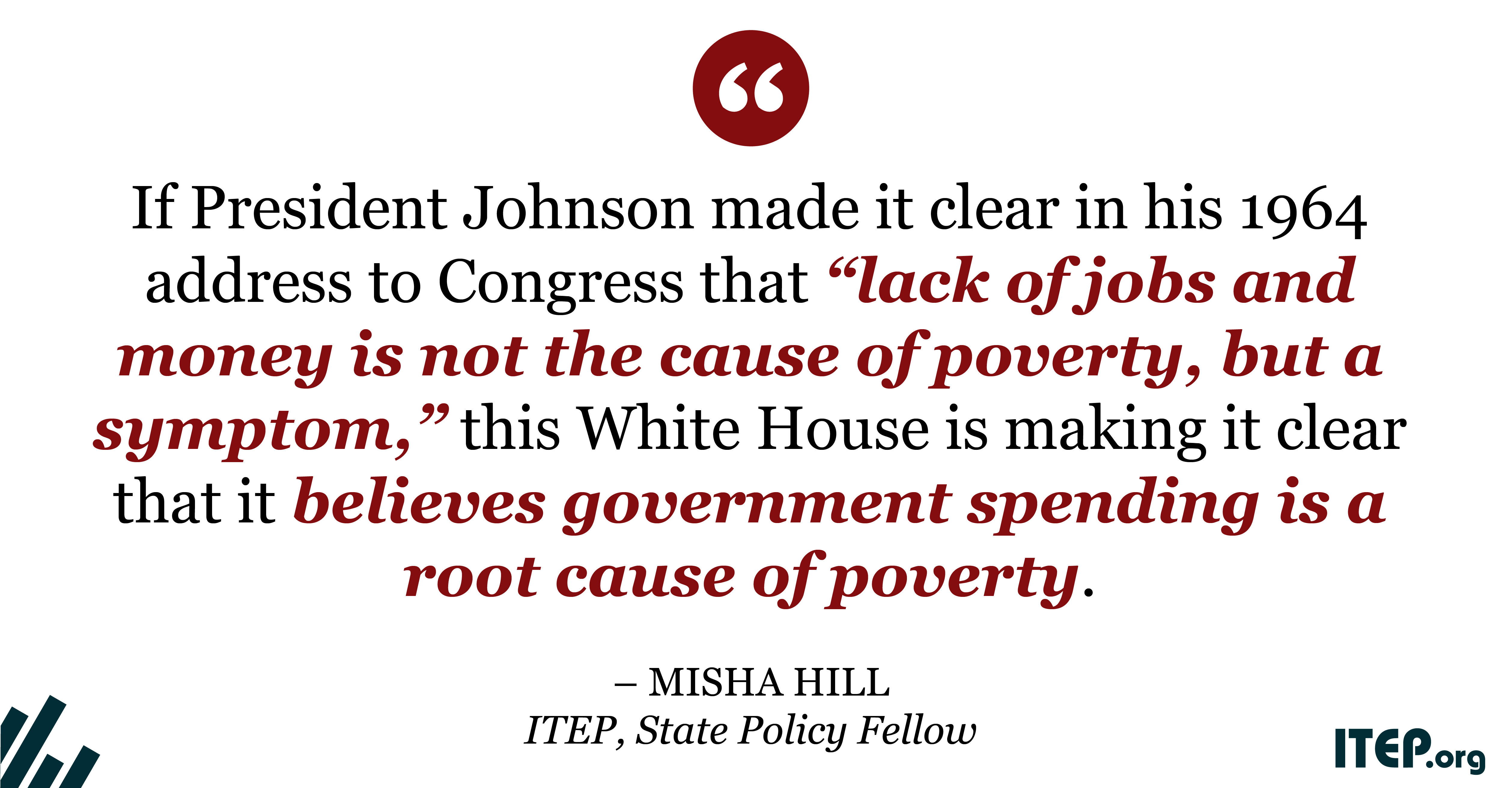 Alabama State Tax Rate >> 1964: Unconditional War on Poverty; 2018: Unconditional War on the Poor – ITEP