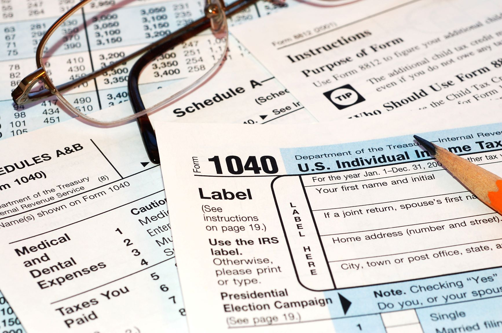 Some Helpful Facts for Tax Day 2019