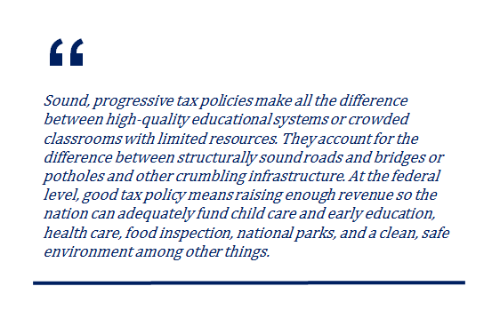 ITEP's Commitment to Being a Voice for Low-, Moderate- and Middle-Income People in Tax Policy Debates