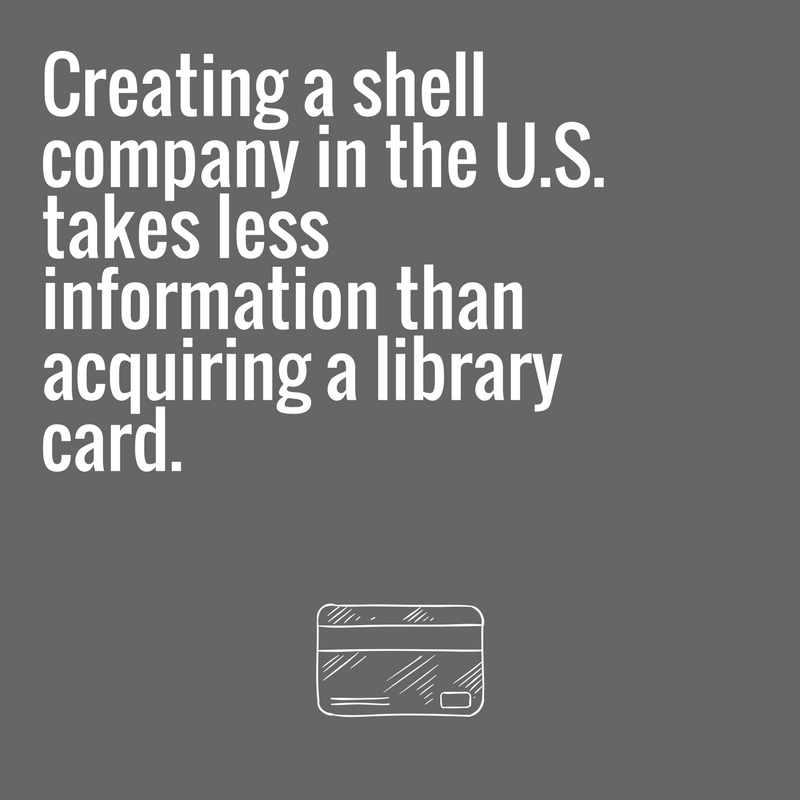 Why We Need to End the Era of Anonymous Shell Corporations