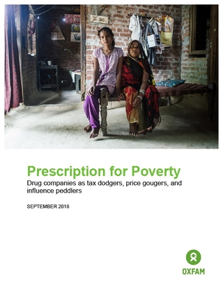 Oxfam Report Finds Pharmaceuticals Profiteering Off Crises in Developing Countries