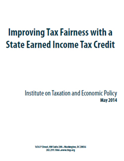 Improving Tax Fairness with a State Earned Income Tax Credit – ITEP