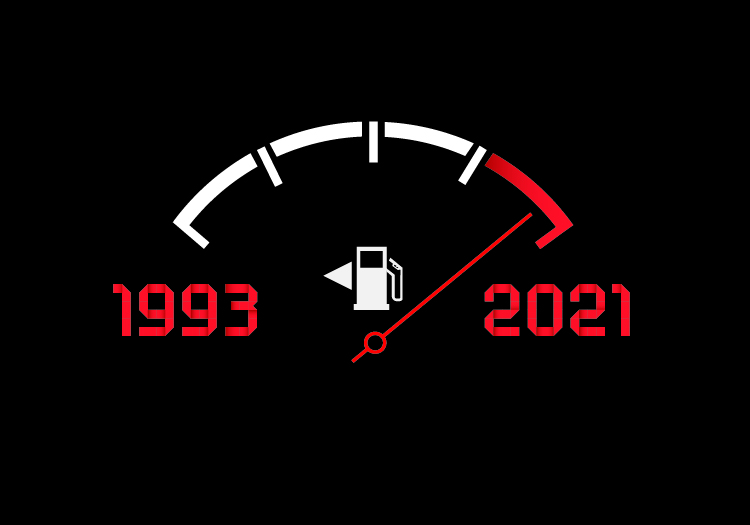 It's Been 10,000 Days Since the Federal Government Raised the Gas Tax