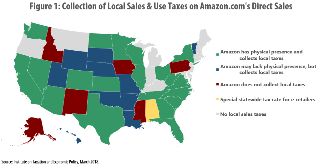 New York State Sales Tax Rate >> Many Localities Are Unprepared to Collect Taxes on Online Purchases: Amazon.com and other E ...