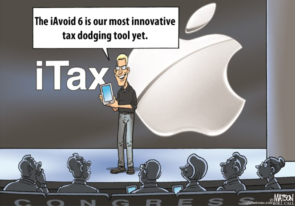 Apple: A Case Study in Why a Tax Holiday for Offshore Cash is Indefensible