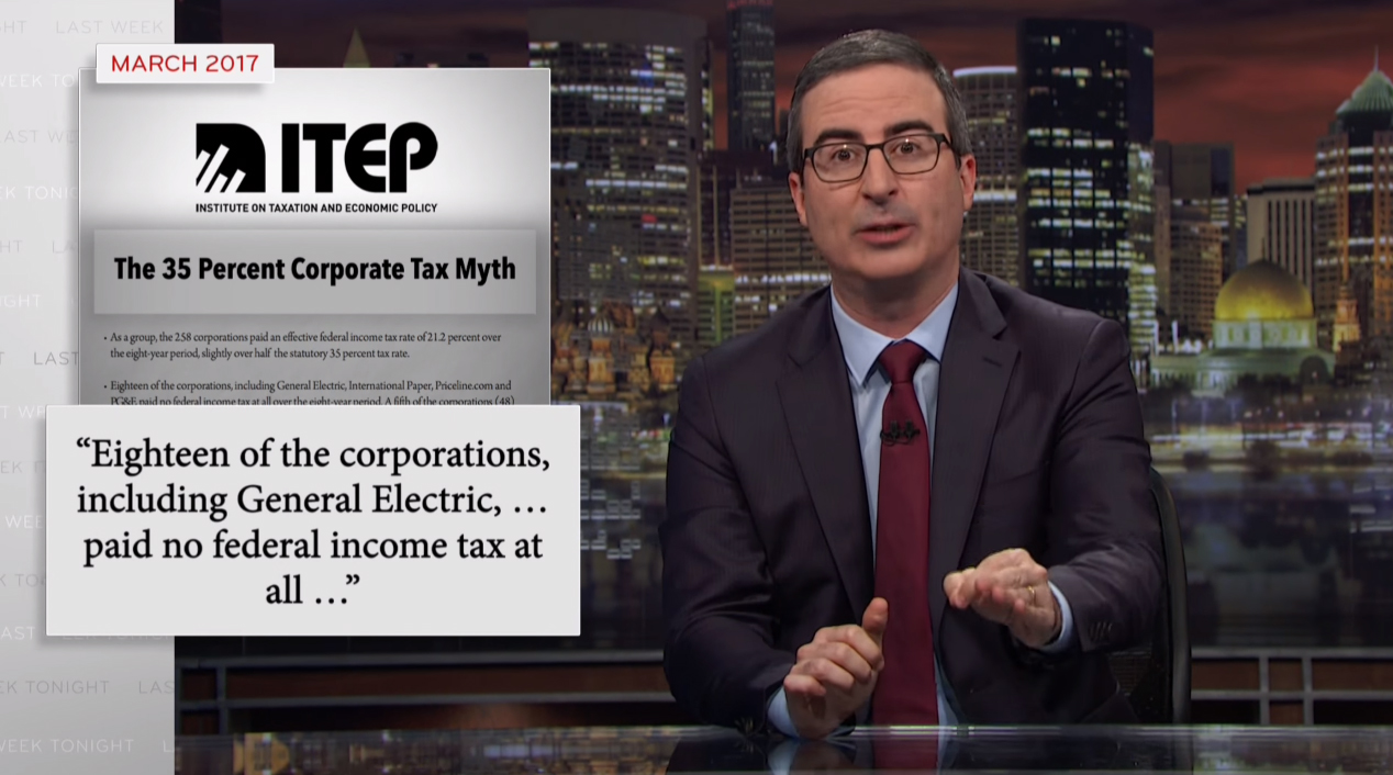Key Takeaways from John Oliver's Segment on Corporate Tax Avoidance