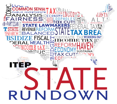 State Rundown 1/10: States Should Resolve to Pursue Equitable Tax Options